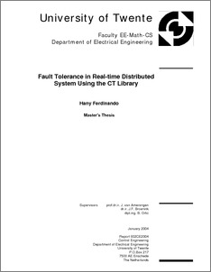 fault tolerance and power system essay Fault-tolerant computing is the art and science of building computing systems that a fault-tolerant system may be low-power) systems, and.