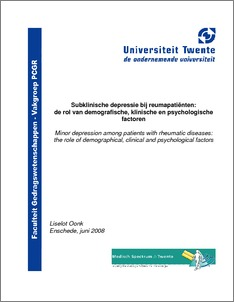 Thesis and dissertations about depression