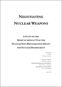 The Nuclear Proliferation