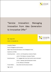 Service innovation essay