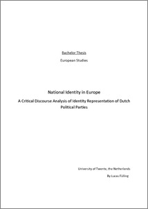 national and european identity essay In current european discourses, the negotiation of muslim identity and its intersection with the respective national identity category is of particular interest.