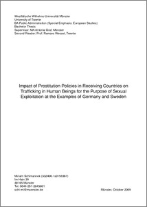 human trafficking and sexual exploitation essay Lescent women)  trafficking in women for the purpose of sexual exploitation,  a  study of trafficking in women and children for sexual exploitation to, through.
