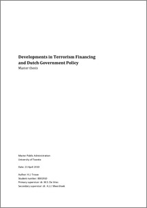 thesis on terrorism financing Rand is a world leader in research on terrorism, counterterrorism, counterinsurgency, disaster management, and homeland security--topics that affect a wide.