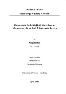 arthritis paper research rheumatoid