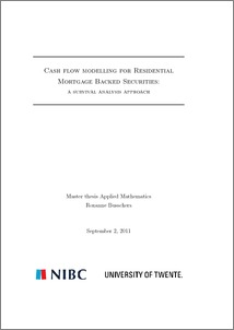 mortgage backed securities thesis He develops the thesis that the interlinked security designs were necessary to make the subprime (mortgage-backed securities) documents similar to thesis chetan.
