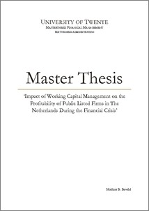 Master thesis buy