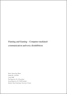 computer mediated communication essay For most of us, computer-mediated-communication (cmc) is a big part of our daily lives for the purpose of this assignment, we will include your cell phone as a type.