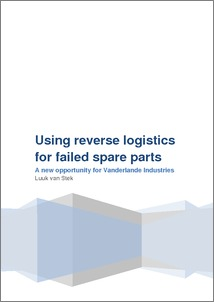 Reverse logistics master thesis
