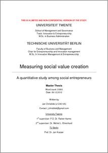 social entrepreneurship in serbia as a new model - University of