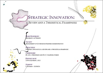 master thesis innovation management