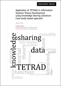 thesis on knowledge sharing Thesis knowledge sharing through the intranet version : 10 date : january 10, 2003 author(s) : patrick prasing study : informatics student number : 133619.