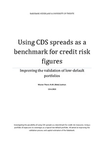 credit default swap essay The vast majority of transactions in the credit default swap market are straightforward, insurance-type transactions.
