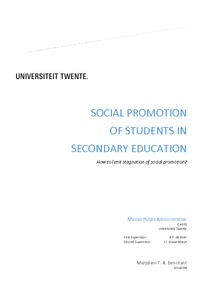 social promotion essay