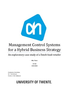business strategy thesis pdf