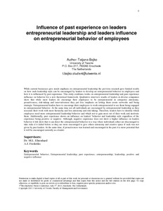 significant leadership experience essay Reading this teams and leadership essay example this essay will discuss my experiences of teams and leadership the significant feature of consultative leadership is that the leader confers with the group members before taking decisions.