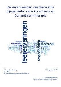 acceptance and commitment therapy essay