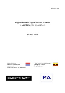principles of public procurement pdf