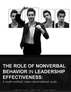 Pdf phd thesis about nonverbal behaviors