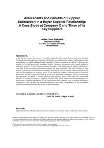 buyer seller relationship in industrial marketing pdf