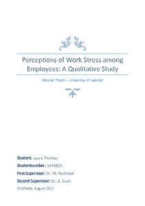 stress level among college student thesis Stress, lifestyle, and diet in college students: analysis of the yeah study by steven mcpartland a thesis submitted in partial fulfillment of the.