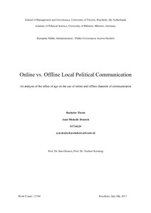 importance of political communication