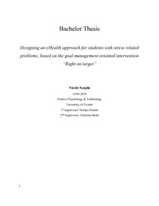 Essay For High School Application  Thesis For An Essay also Thesis Statement Argumentative Essay Designing An Ehealth Approach For Students With Stress  Last Year Of High School Essay